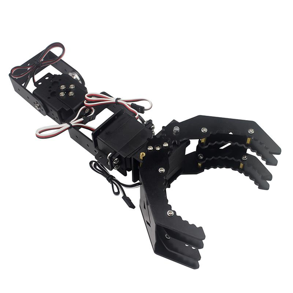 DIY 4DOF Robot Arm Claw Holder With  4pcs Digital Servo