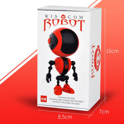 WELLYESTOYS Smart RC Robot Touch Control Voice Interaction Shining Eyes Robot Toy