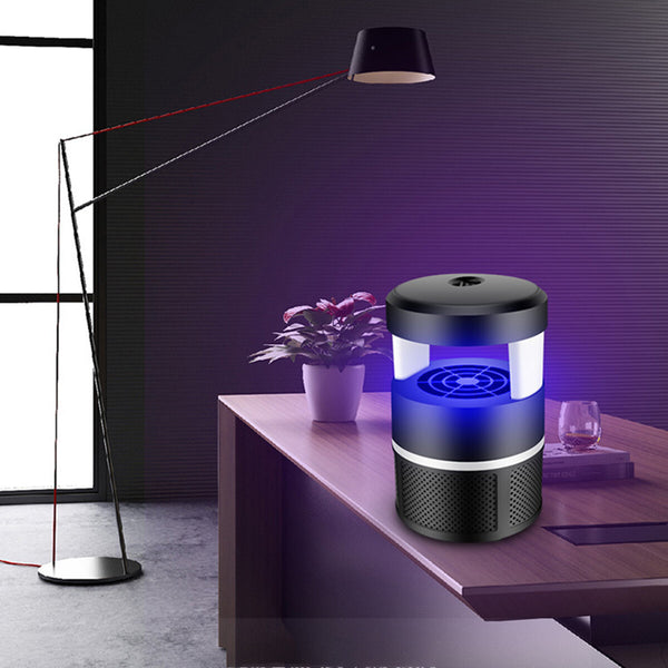 5V USB LED Electric Mosquito Insect Killer Lamp Fly Bug Pest Trap Zapper Light