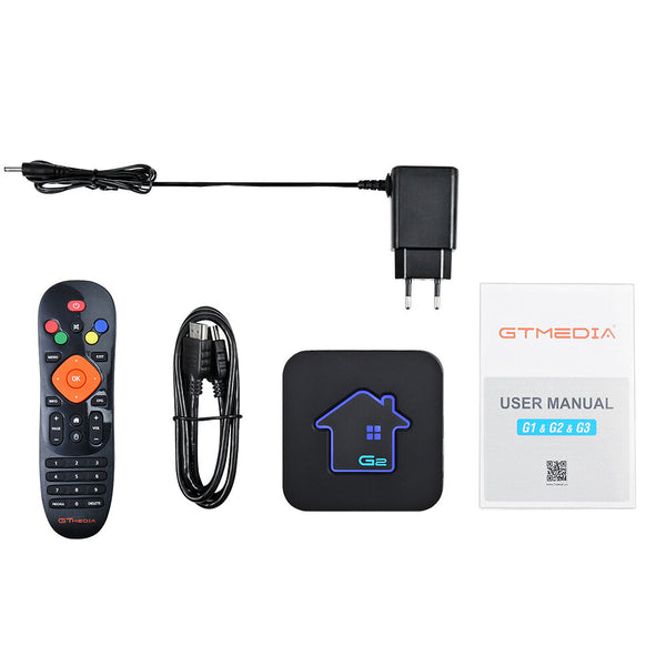 GTMEDIA G2 Amlogic S905W 2/16GB 2.4G WiFi H.265 4K HD Android 7.1.2 TV Box Support Xtream IPTV Youtube Netflix