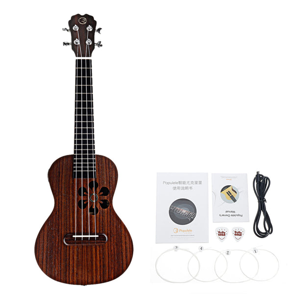 Xiaomi Populele S1 23 Inch 4 Strings 18 Fret Roeswood Smart Ukulele for Beginner
