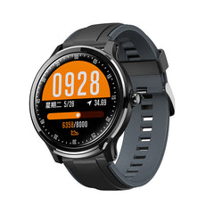 Bakeey SN80 1.3inch Full-touch Screen Heart Rate Blood Pressure SpO2 Monitor bluetooth Music Weather Forcast Smart Watch