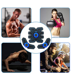 Abs Stimulator Smart Abdominal Workout Muscle Toner Trainer 6 Mode 10 Intensity Fitness Equipment