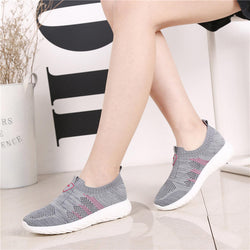 Outdoor Sports Shoes Summer Breathable Women Soft Female Sneakers
