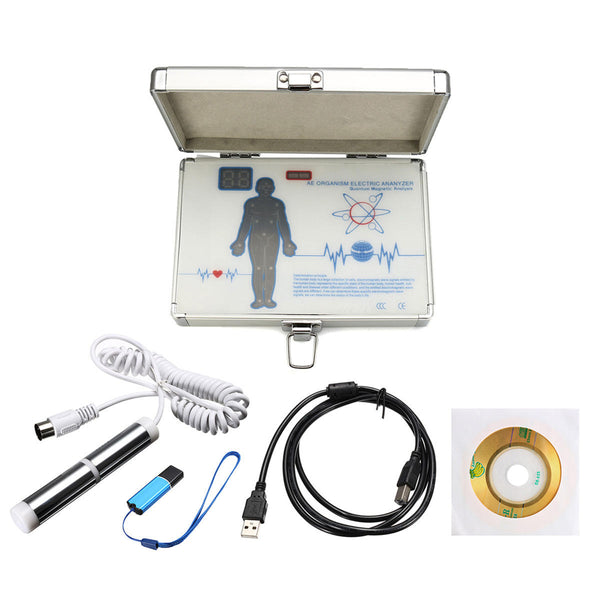 2018 Latest AEM07 52 Reports 4.6.0 Quantum Magnetic Resonance Body Analyzer Machine