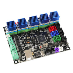 MKS GEN L V1.0 Motherboard + 5x TMC2209 V2.0 Super Silent Stepper Motor Driver Kit for 3D Printer