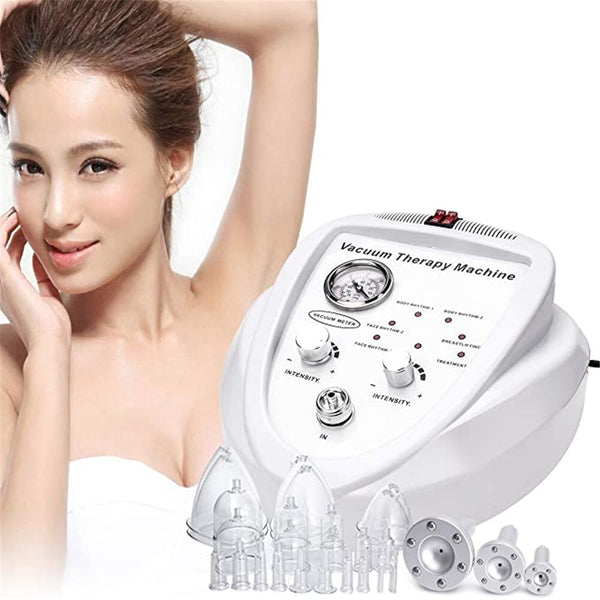 Vacuum Therapy Massage Body Massage Cupping Machine Body Shaping Lymph Drainage Spa Skin Rejuvenation Machine