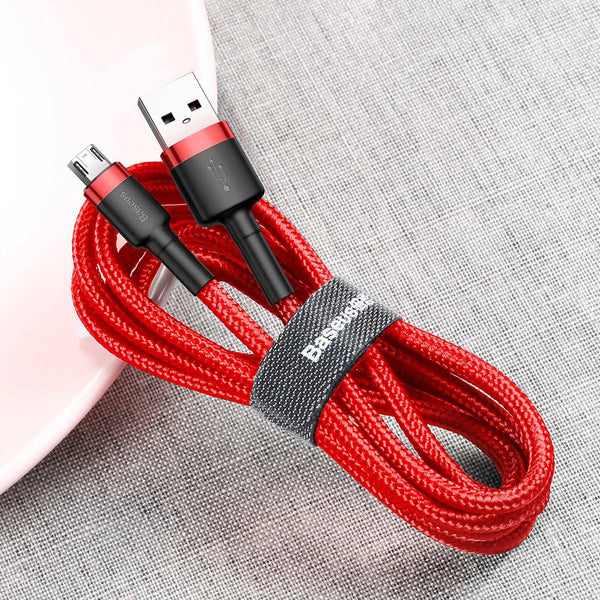 Baseus 2A Micro USB Fast Charging Data Cable For Xiaomi Mi4 Redmi 7A Redmi 6Pro OUKITEL Y4800