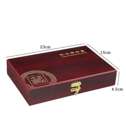 50 Pcs Commemorative Coin Washer Round Cox With The Adjustable Inner Cushion Jewelry Box