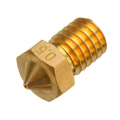 TRONXY V6 0.2/0.3/0.4/0.5/0.6/0.8mm M6 Thread Brass Extruder Nozzle For 3D Printer Parts