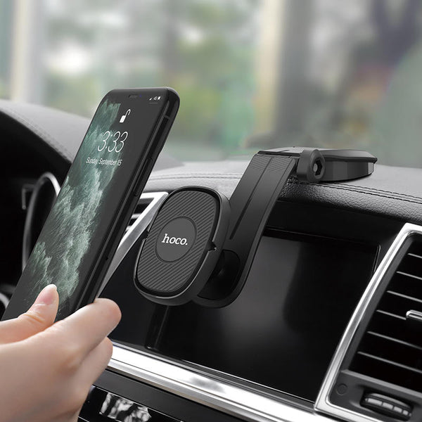 HOCO Strong Magnetic Dashboard Car Phone Holder Car Mount for 4.0-7.0 Inch Smart Phone for iPhone 11 Pro Max for Samsung Note 10 Xiaomi Redmi Note 8