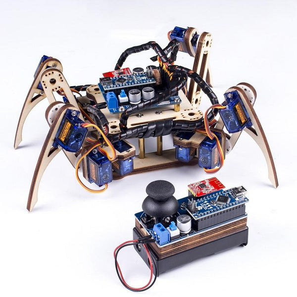 SunFounder SF-Crawling V2.0 Remote Control Crawling Quadruped Robot for  Nano