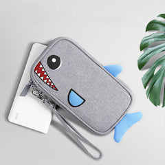 BUBM Portable 20000mAh Cartoon Power Bank Bag Charger USB Cable Storage Pouch Digital Storage Bag