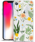New Style Case Cover for iPhone Unov Case Clear with Design Slim Protective Soft TPU Bumper Embossed Floral Pattern [Support Wireless Charging] Cover for iPhone XR 6.1 Inch(Flower Bouquet) USA Imported Product - EY Shopping