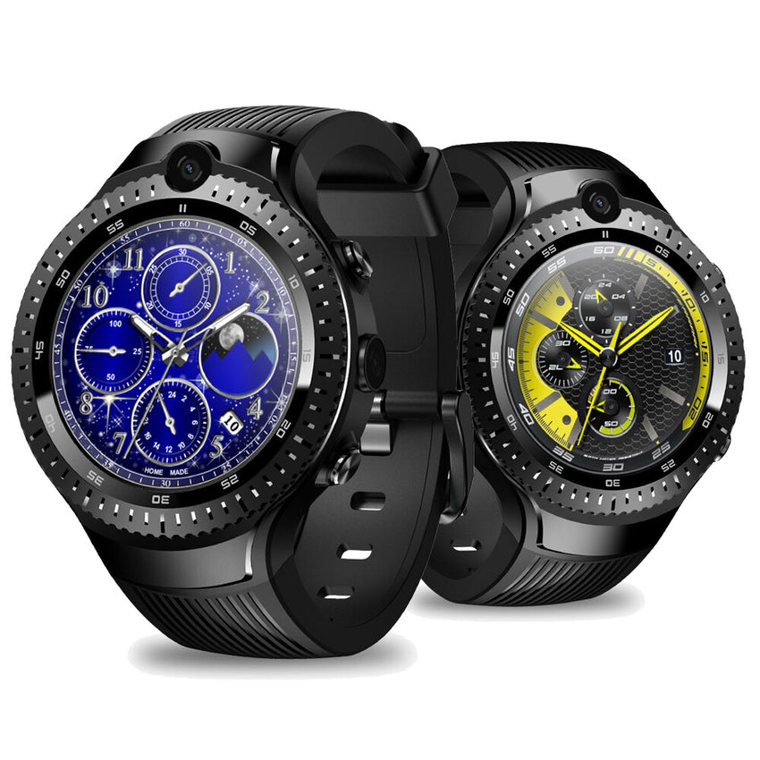 [Dual Camera] Zeblaze THOR 4 Dual Video Call 5.0+5.0MPTwo Camera Google Play App Download 4G LTE Smart Watch Phone
