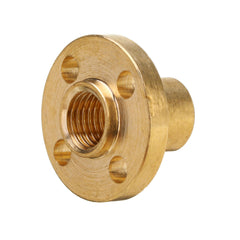 3D Printer T8 1/2/4/8/10/12mm Copper Lead Screw Nut For Stepper Motor Lead Screw 8mm Thread