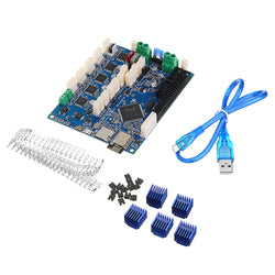 Duet 2 Wifi V1.04 Upgrades Controller Board Mainboard Cloned DuetWifi Advanced 32bit Motherboard For 3D Printer CNC Machine