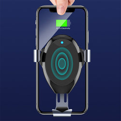 Bakeey 10W Wireless Car Charger Fast Charging Stand Holder Phone Bracket For iPhoneXS 11Pro Xiaomi Mi10 Redmi Note 9S