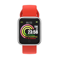 Bakeey QW21 Heart Rate Blood Pressure Oxygen Monitor Multi-sport Modes Intelligent Alarm Clock Smart Watch