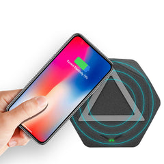 Bakeey 10W Fast Charging Qi Wireless Charger Pad for iPhone X 8 Plus S9 S8