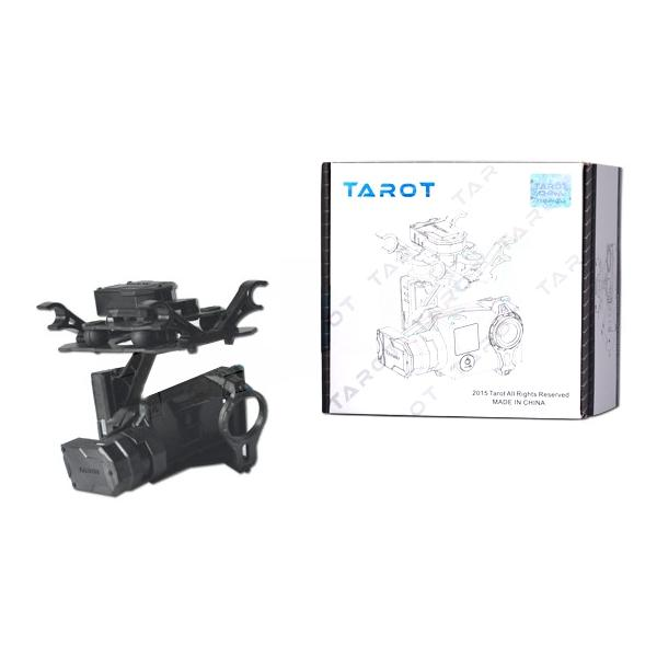 Tarot T4-3D Dual Shock Absorber 3 Axis Gimbal PTZ for Gopro Hero4 3+ 3 FPV RC Drone TL3D02