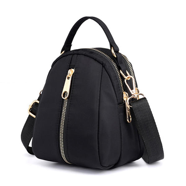 Women Nylon Waterproof Casual Crossbody Bag Multi-slot Handbag