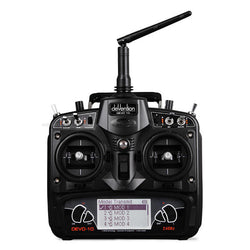 Walkera DEVO 10 WK-DEVO10 2.4 GHz 10CH Transmitter Without Receiver