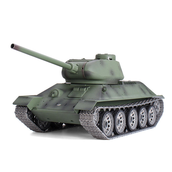 Henglong 3909 2.4G 1/16 Metal T34 2.4G RC Tank Car Vehicle Models 6.0 Version