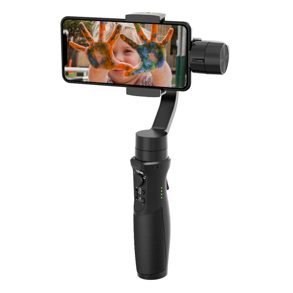 Upgraded Hohem iSteady Mobile PLUS Gimbal 3-axis Handheld Smartphone Stabilizer Tracking Lapse Zoom Focus Control