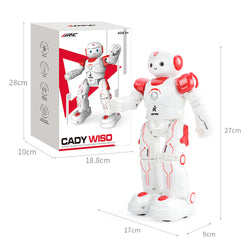 JJRC R12 CADY WISO Smart RC Robot Intelligent Programming Singing Dancing Patrol Robot Toy