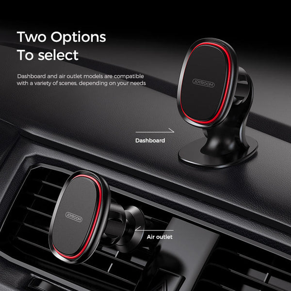 Joyroom Magnetic Air Vent Dashboard Car Phone Holder Car Mount for 3.5-7.0 Inch Smart Phone for iPhone 11 for Samsung Galaxy Note 10 Xiaomi Mi 9