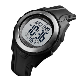SKMEI 1503 Sport Men Watch 5ATM Waterproof Chronograph Outdoor Student Luminous Display Digital Watch