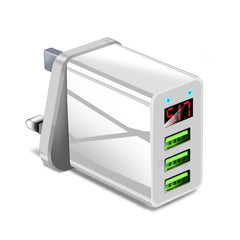 Marjay M3 18W LED Digital Display QC3.0 Triple 3 USB Output Quick Charge USB Charger Universal Wall Charger
