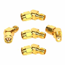 10PCS Realacc 45 Degree Antenna Adpater Connector SMA For RX5808 Fatshark Goggles