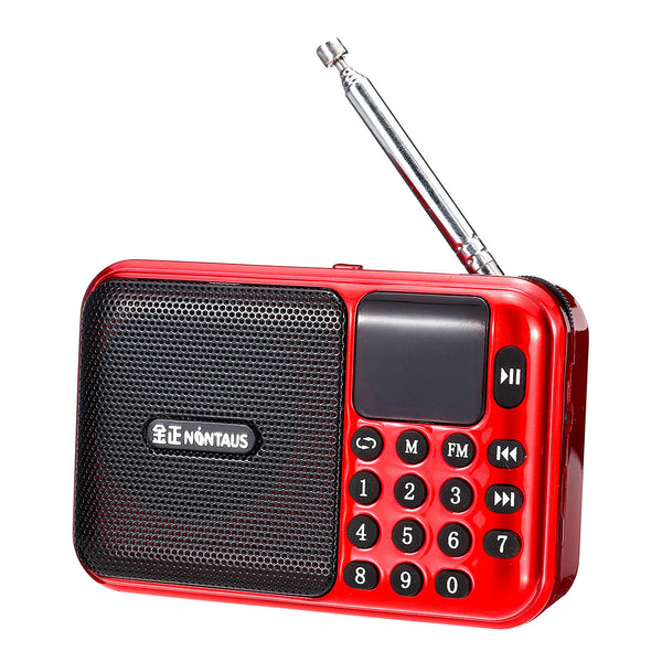 5V 3W Portable USB Radio FM MP3 Memory Card U-disk Speaker Player