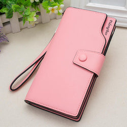 Women 11 Credit Card Holders 6 inches Cell Phone PU Leather Wallet Clutch Wallet