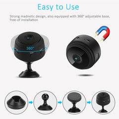 1080P HD Mini Wireless WIFI IP Camera  DVR Night Vision Home Security - EY Shopping