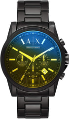 Water Resistant: 5 ATM AX Armani Exchange Men's Chronograph Dress Watch USA Imported Product
