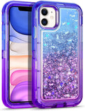 New Style Case Cover for iPhone WESADN Case for iPhone 11 Case for Women Girls Glitter Cute Protective Shockproof Heavy Duty Clear Case with Sparkle Bling Quicksand Hard Bumper Soft TPU Cover for iPhone 11,6.1 Inches,Light Brown USA Imported Product - EY Shopping