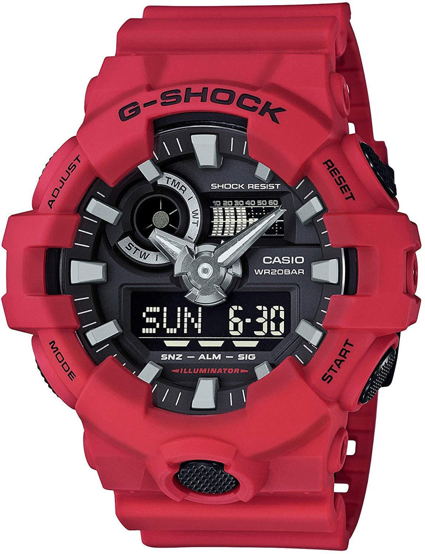 200m water resistance Casio Men's 'G Shock' Quartz Resin Casual Watch USA Imported Product - EY Shopping