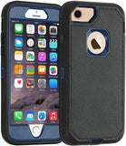 New Style Case Cover for iPhone Co-Goldguard iPhone 6/6s Case,[Heavy Duty] Armor 3 in 1 Built-in Screen Protector Rugged Cover Dust-Proof Shockproof Drop-Proof Scratch-Resistant Tough Shell for Apple iPhone 6/6s 4.7 inch Blue USA Imported Product - EY Shopping