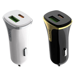 HOCO 18W PD QC 3.0 Fast Charging USB Car Charger For Samsung S8 S9 S10 Xiaomi Mi9 Huawei P30 Mate 20Pro