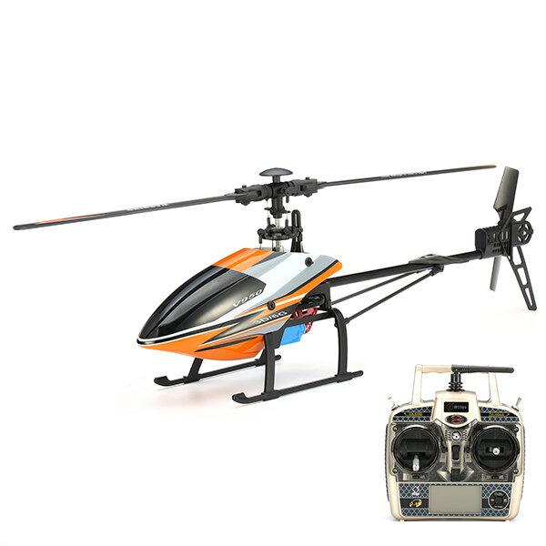 WLtoys V950 2.4G 6CH 3D6G System Brushless Flybarless RC Helicopter RTF - EY Shopping