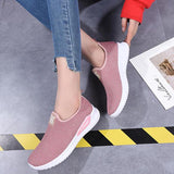 Mesh Outdoor Walking Comfy Women Sneakers - EY Shopping