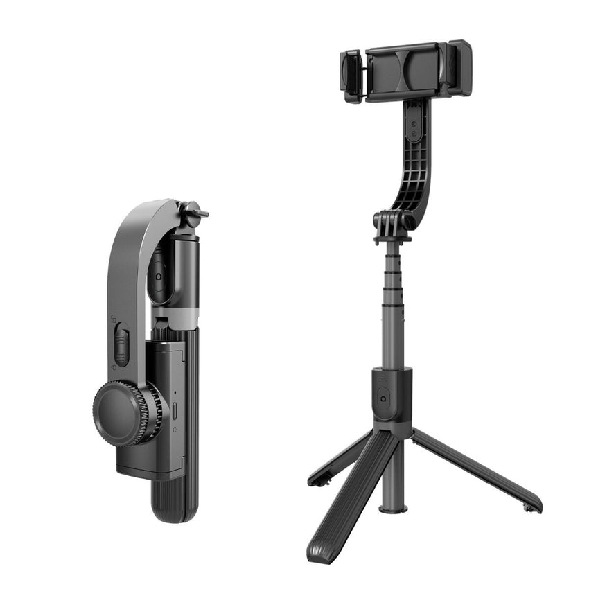 Bakeey Universal Gimbal Stabilizer bluetooth Selfie Stick Tripod Universal Handheld Holder Stand Applicable for Phone Size of 4.0-6.2 Inches