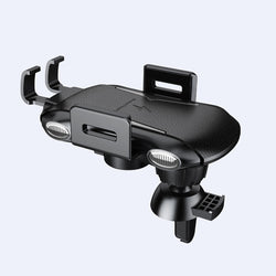 Universal Intelligent Auto Lock 10W Qi Wireless Fast Charger Car Holder Stand for Samsung Mobile Phone