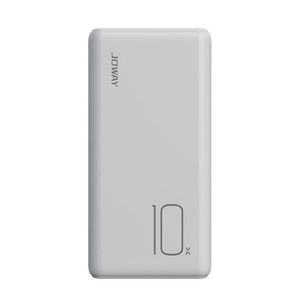 JOWAY JP197 2A Dual USB Ports Smart Current Match 10000mAh Portable Fire-Proof Power Bank for Samsung S10+ Redmi Xiaomi Mi9 HUAWEI for iPhone