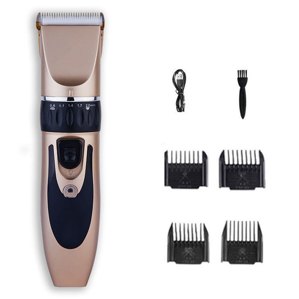 Professional Electric Pet Hair Clipper Rechargeable Dog Cat Trimmer Grooming Tool Low-noiser Pet Haircut Shave Machine