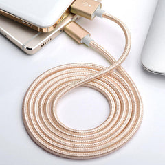 Bakeey 2.1A Nylon Braided Micro USB Fast Charging Data Cable For Xiaomi HUAWEI Android Phone