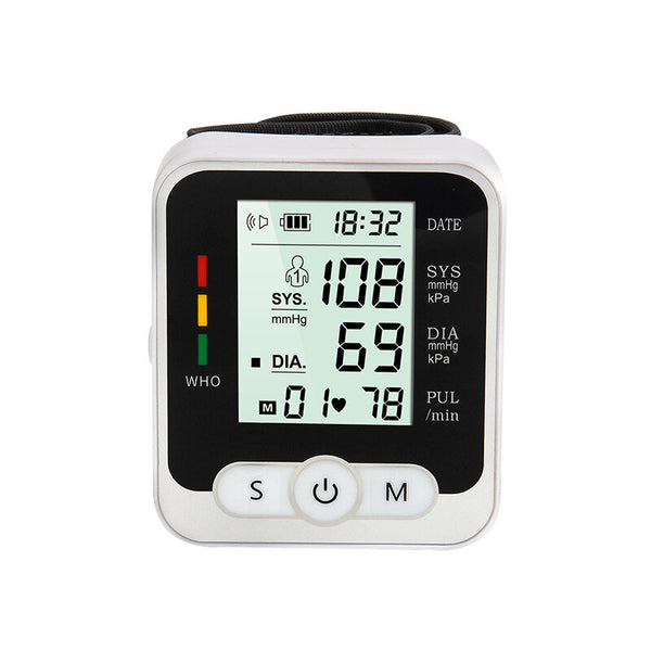 Wrist Type Household Electronic Automatic Hypertension Measuring Instrument Sphygmomanometer